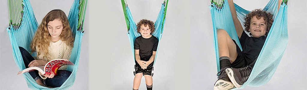 Fun and Function Mesh Therapy Swing for Kids with Special Needs