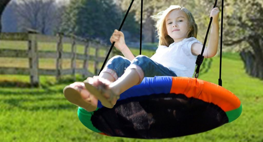 flying saucer swing